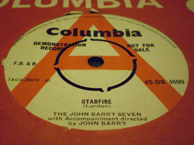 The John Barry Seven - Starfire 45