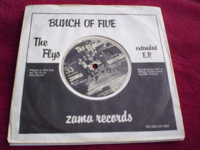 The Flys - Bunch Of Five EP