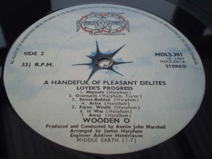 Wooden O - A Handful of Pleasant Delites
