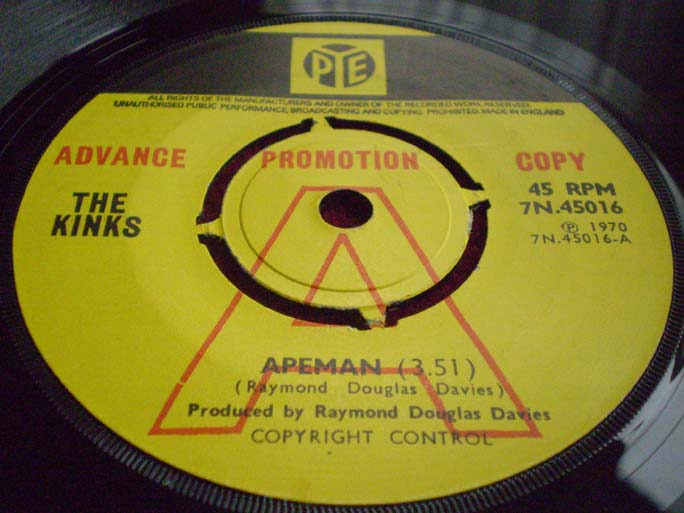 The Kinks - Apeman 45
