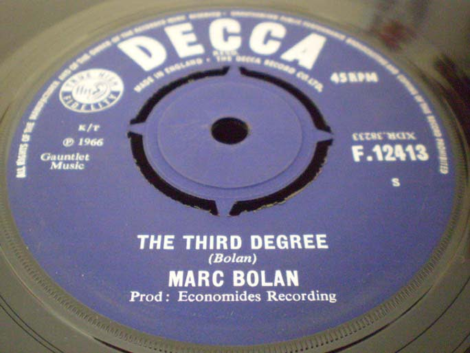 Marc Bolan - The Third Degree 45