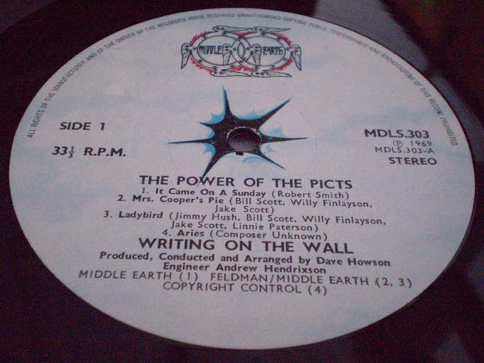 Writing On The Wall - The Power Of The Picts LP